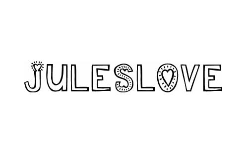 juleslove font