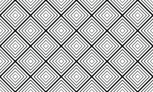 diamond pattern geometric