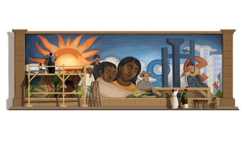 Diego Rivera's 125th Birthday