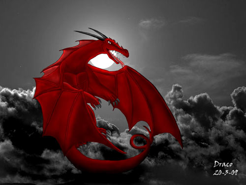 Strong Dragon Wallpaper