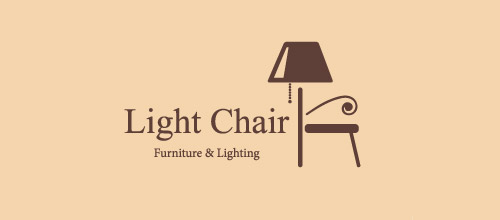 light chair furniture logo