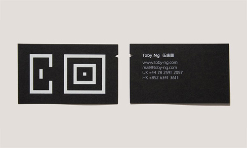 Business Card for: Tony Ng