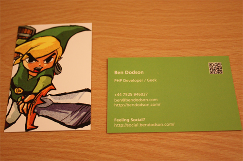 Wind Waker - MOO Business Cards