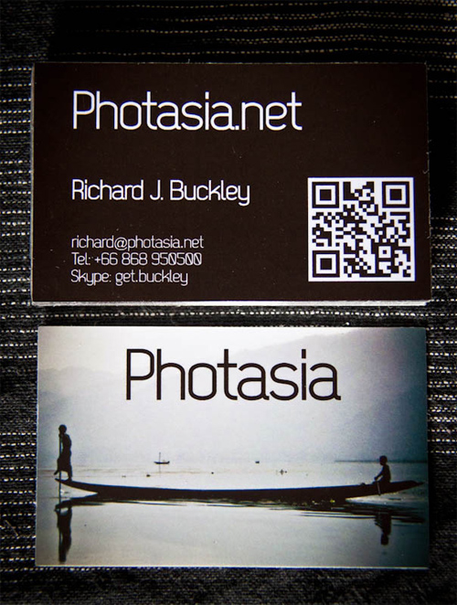 PhotAsia business card