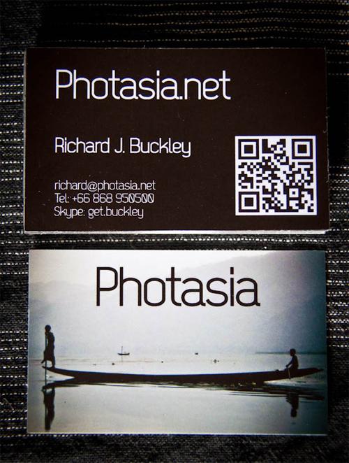 PhotAsia business card