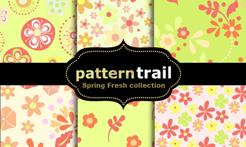 Spring Fresh Floral Patterns