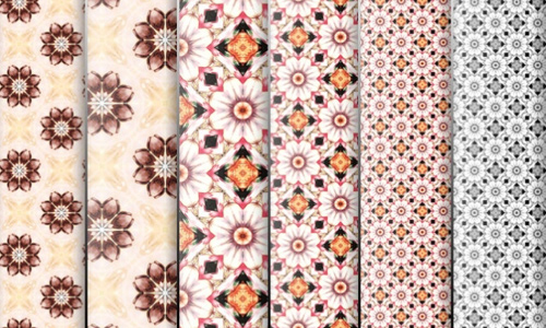 Flowers Pattern for Photoshop