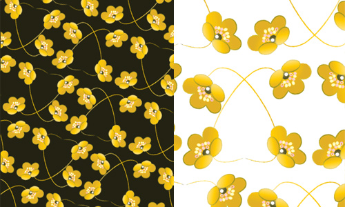 Free Photoshop Flower Pattern