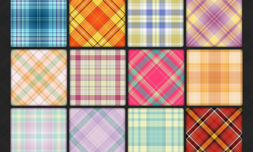 108 Plaid Pattern Pack 5