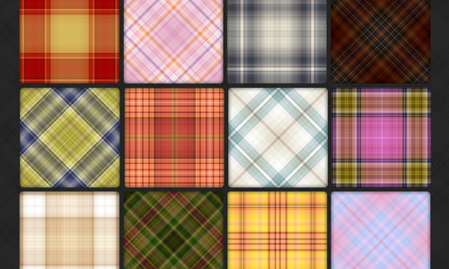 110 Plaid Pattern Pack 4