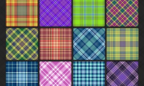 110 Plaid Pattern Pack 1
