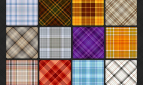 110 Plaid Pattern Pack 3
