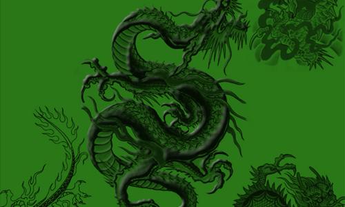 Dragon Brushes:: New Set