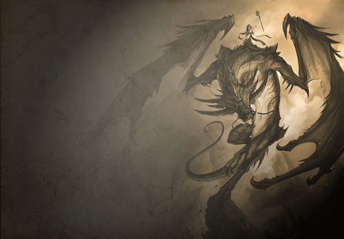 Nice Dragon Wallpaper