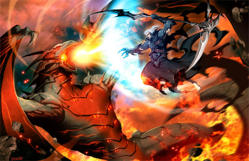 hades vs therion