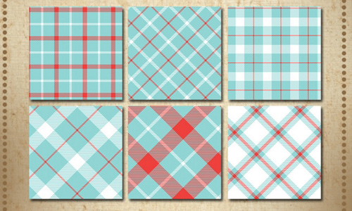 Soft Plaid Patterns