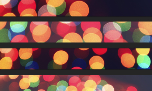 Colour bokeh textures