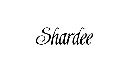 Shardee font