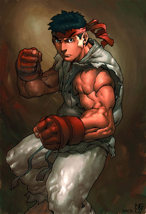 ryu coloured by kandoken