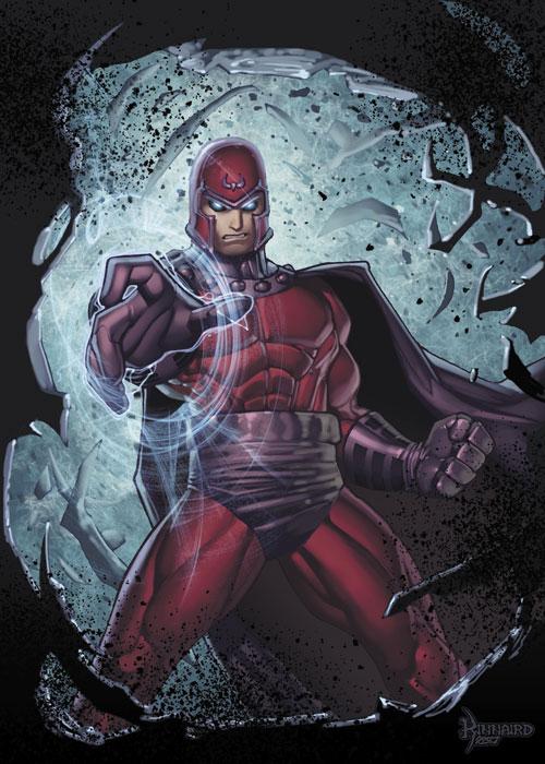 Magneto Pissed