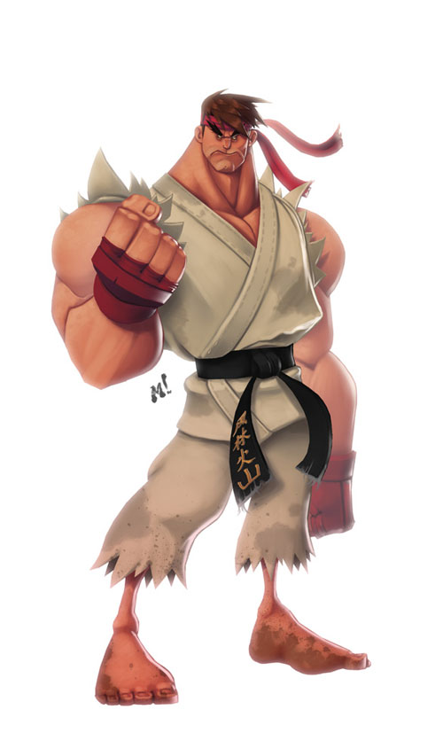 Original Street Fighter: Ryu