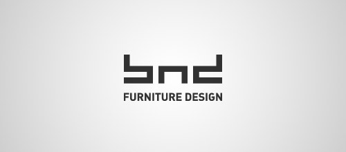 bnd furniture logo design