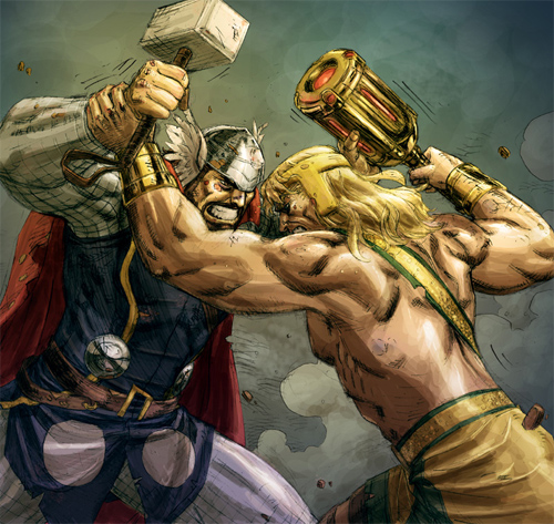 hercules thor colored