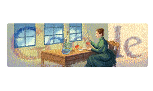 Marie Curie's 144th Birthday