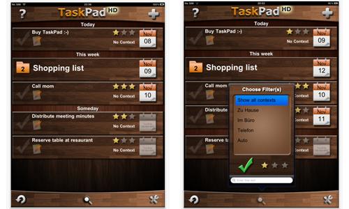 TaskPad HD