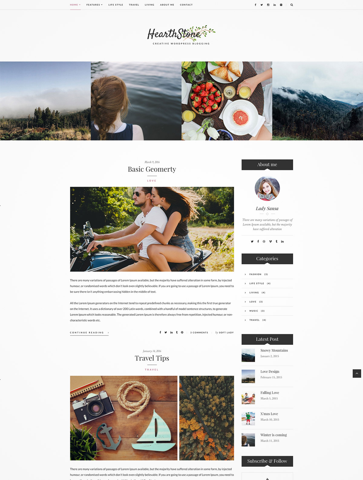 wordpress theme blogs