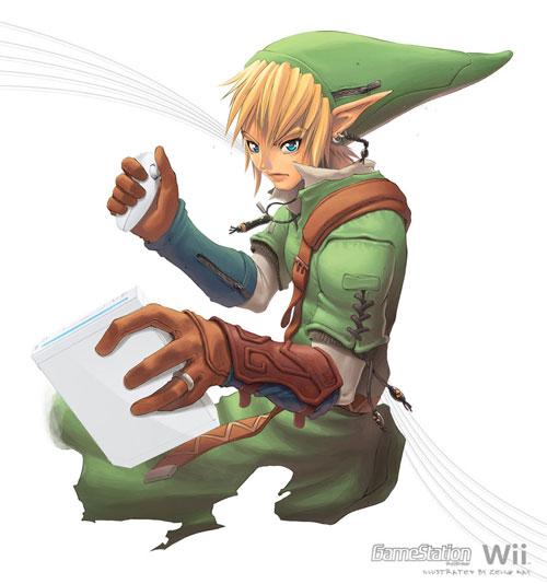 Zelda on Wii