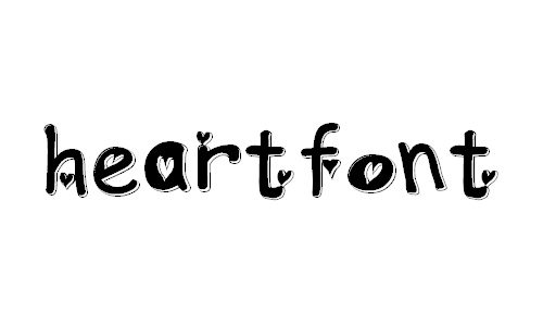 heartfont