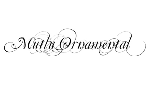 Top 20 free fancy fonts for diy wedding invitations(updated.
