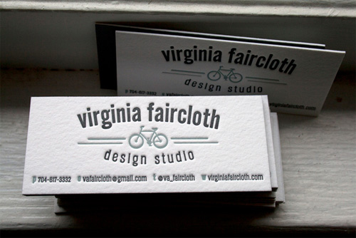 Business Card for: Virginia Faircloth