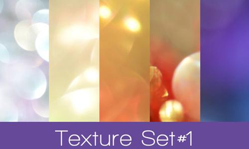 Free Bokeh Texture Set