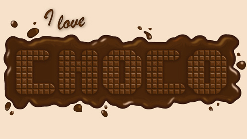 Quick Tip: How to Create a Delicious Chocolate Text Effect