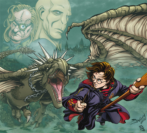 harry potter vs horntail