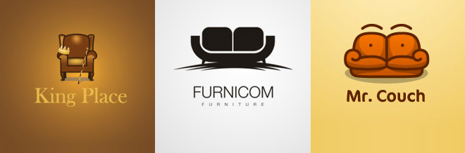 40 examples of furniture logo design naldz graphics - Graphic Design Logo Ideas