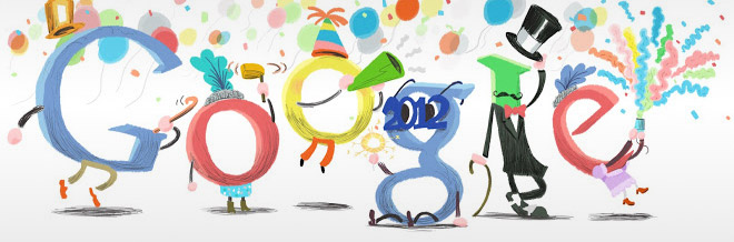 A Collection of Creative Global Google Doodles for 2011