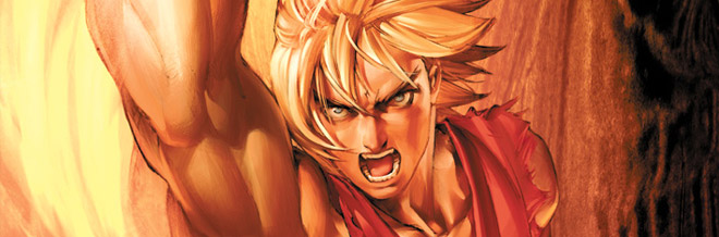 29 Intense Ken of Street Fighter Artworks