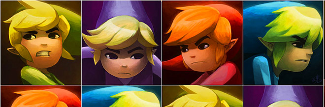 35 Cool Link Artworks from Legend of Zelda
