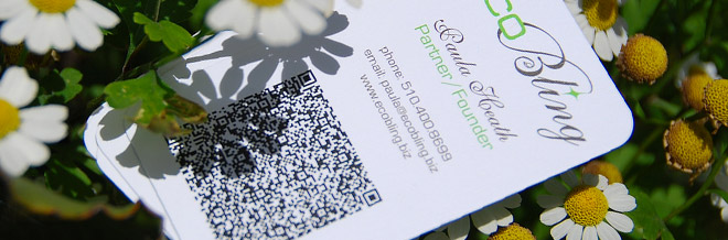 34 Examples of Business Card Designs with QR Code