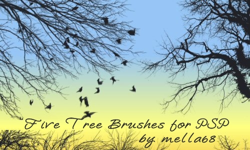 Tree Brushes for PSP