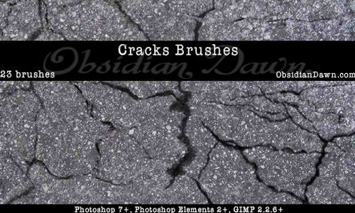 Cracks Photoshop Brushes