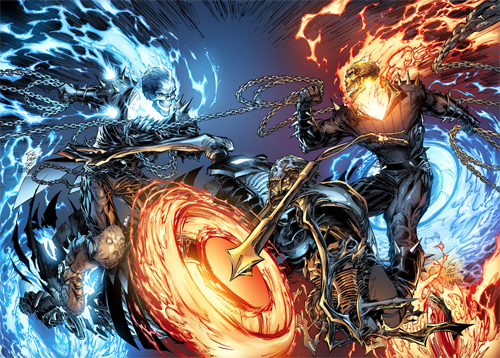 Ghost Rider 28 Covers