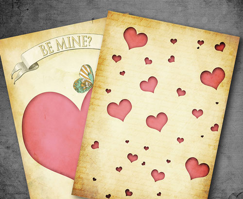 Inspiring Valentines Card