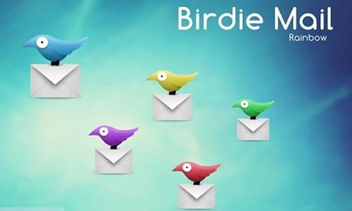 Birdie Mail Rainbow