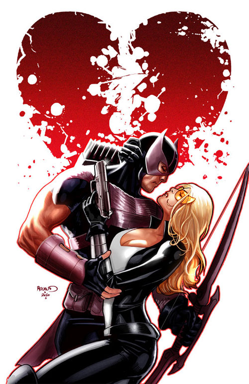 Hawkeye and Mockingbird 6