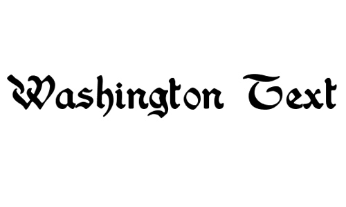 Washington Text