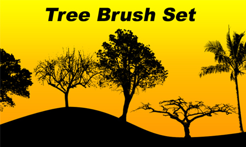 Tree Brush Set